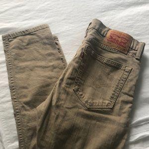 Levi's Jeans - Men's Levi Skinny jeans